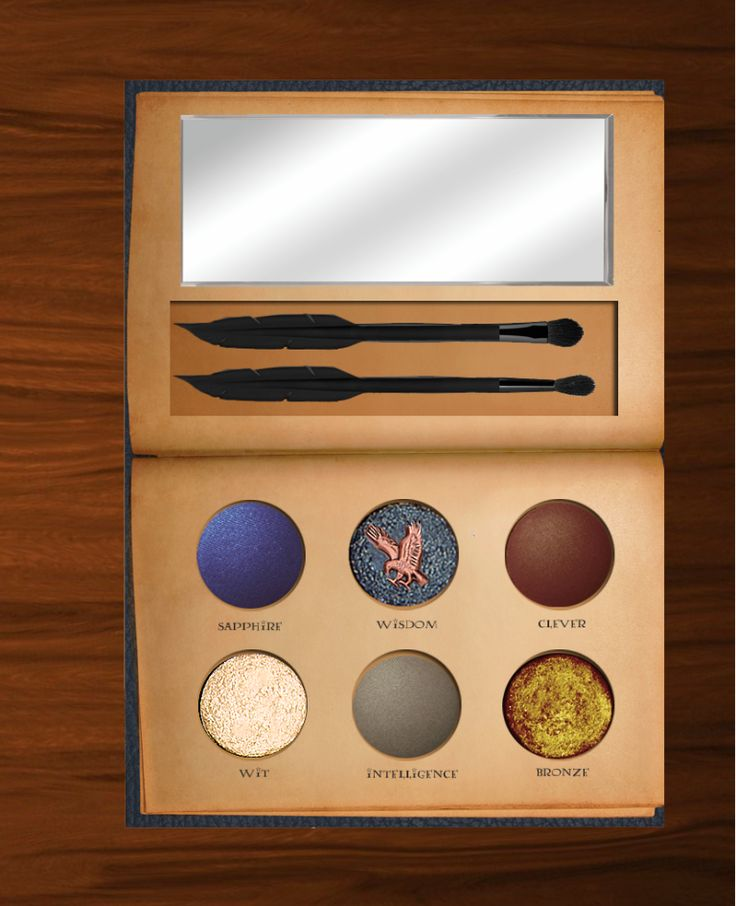 """The Internet Is Breaking Over These Epic """"Harry Potter"""" Makeup Palettes - Seventeen.com"""