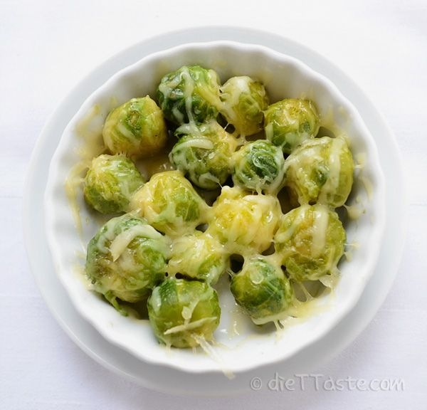 Sauteed Brussel Sprouts with Cheese | To make Brussels sprouts look bright green and crispy and get rid of their smell, you can use Blanch & Shock method. Add Brussels sprouts to a large pot of boiling salted water and cook sprouts until crisp-tender, about 4 minutes. Using a slotted spoon, transfer Brussels sprouts to an ice bath. This stops the cooking process. Remove sprouts from ice bath after a few seconds. At this point you can freeze, sauté or roast your Brussels sprouts.