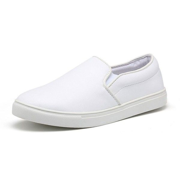 Casual Loafers Flats PU Leather Slip