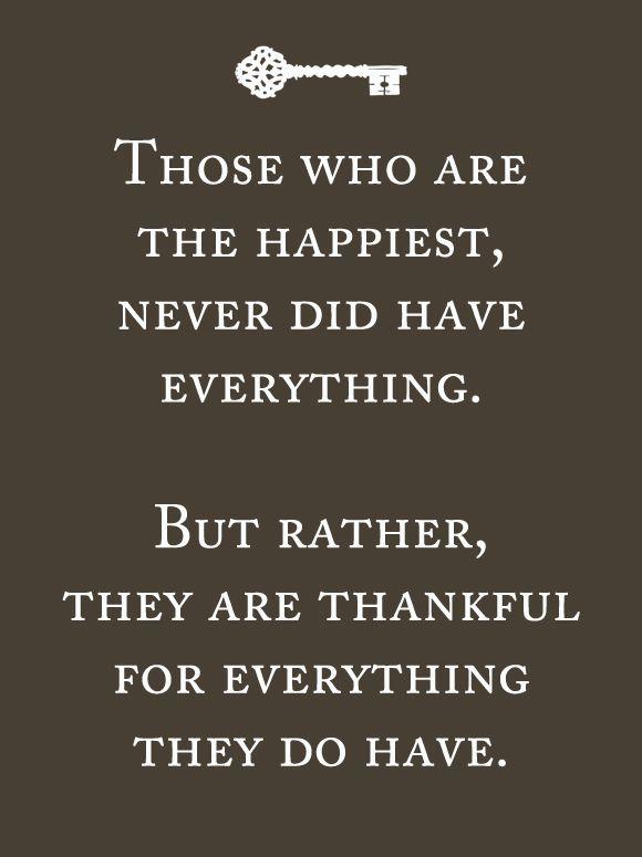A lovely description of gratitude