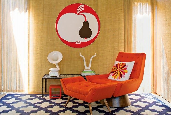 Mix and Chic: Home tour- Jonathan Adler's and Simon Doonan's fabulous Shelter Island vacation home!