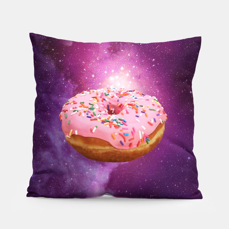 Space Donut Pillow, Live Heroes