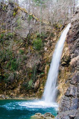 Ilioxori waterfalls