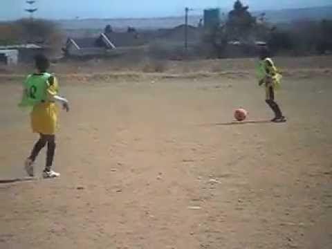 Moletjie Sports Academy FC under 13 team.