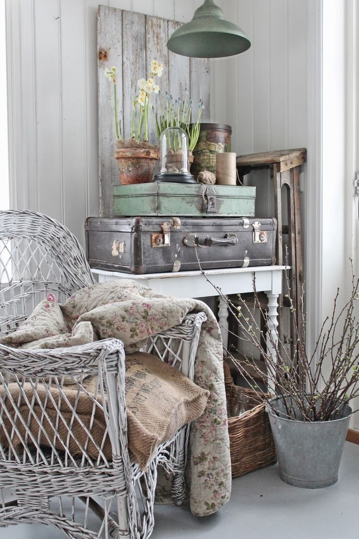 VIBEKE DESIGN: Old & New-with patina!