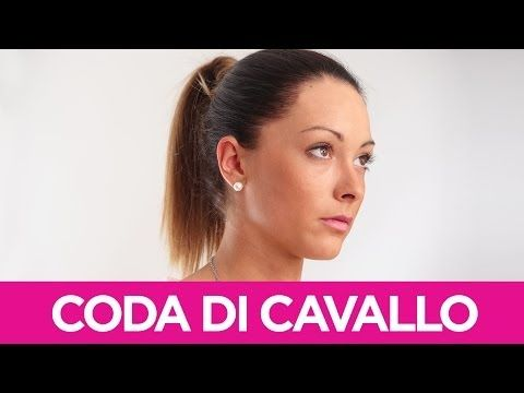 Come fare la coda di cavallo | Le Acconciature fai-da-te di Elisa | Video Tutorial Pettinature