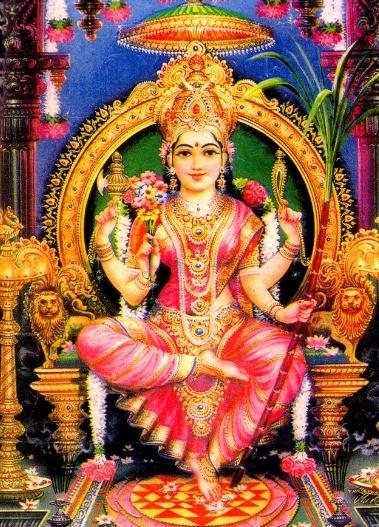 Hindu Goddess Shakti - divine feminine creative power!