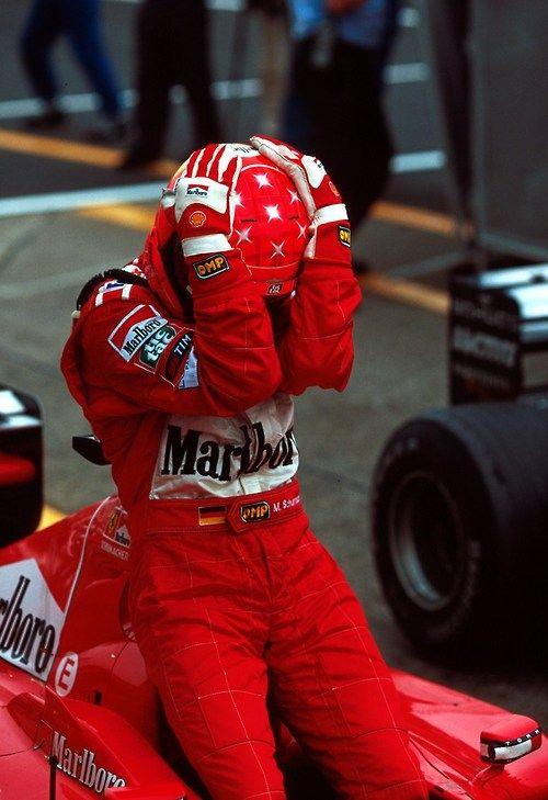 Michael Schumacher Suzuka 2000..first title with Ferrari..