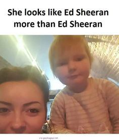 Funny Picture Of A Little Girl ft. Ed Sheeran