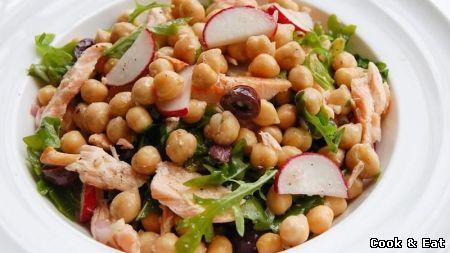 Тунец с салатом из бобов - 11 Декабря 2014 - Cook and Eat