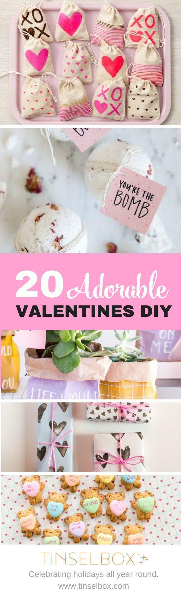 20 Adorable Valentines DIY – Best of Pinterest #valentines