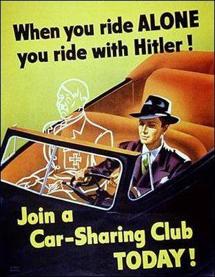 car pooling poster