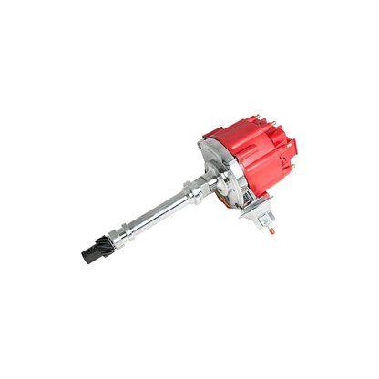 Top Street Performance JM6501R HEI Distributor with Red OEM Cap (65K Volt Coil)