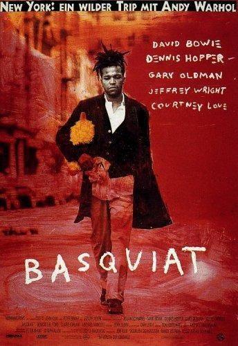 """""""Believe itor not, Ican actually draw. """". В 1996 году вышел фильм снятый режиссером и художником Джулианом Шнабелем посвященный жизни Жана-Мишеля Баския с одноименным названием («Basquiat»), хорошо воспринятый критиками. В нём сыграли такие именитые актёры как Деннис Хоппер, музыкант Дэвид Боуи в роли Энди Уорхола, Джефри Райт в роли Баския, Бенисио Дель Торо, Кортни Лав и неподражаемый Кристофер Уокен."""