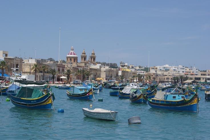 #Travel: #Marsaxlokk, #Malta.  Photo Credit: Dawne Rudman