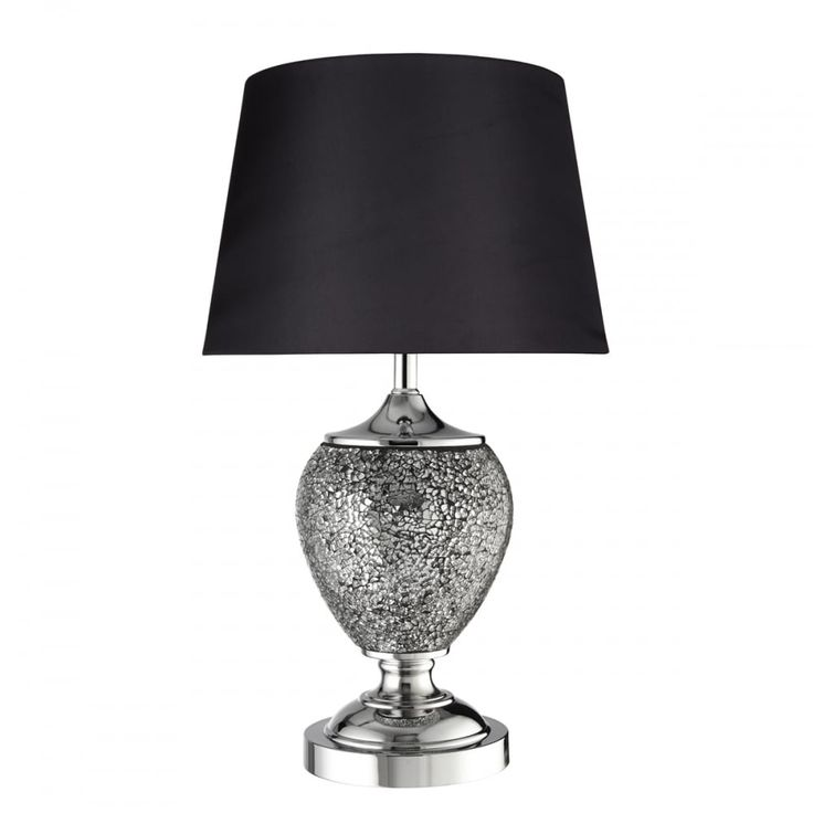 43 best literally lighting images on pinterest buffet lamps this searchlight is a 1 light table lamp in a polished chrome finish with unique mosaic detail complete with dark grey fabric shade aloadofball Images