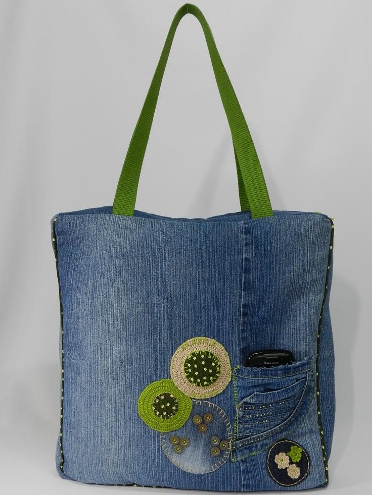 Bolsa Dourada Pode Usar De Dia : Ideias sobre mochila de jeans no