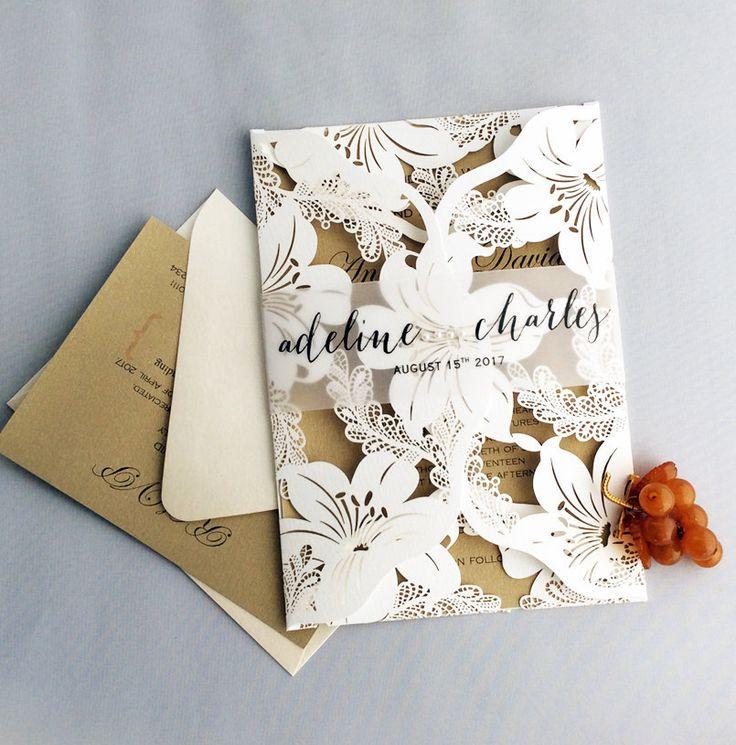 87 best wedding invitatiions images on Pinterest
