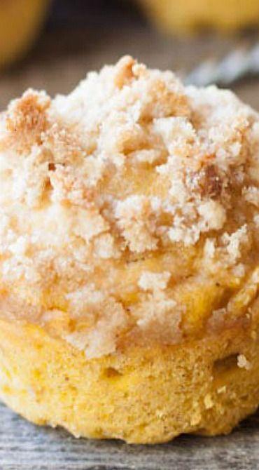 Brown Butter Pumpkin Banana Streusel Muffins Recipe