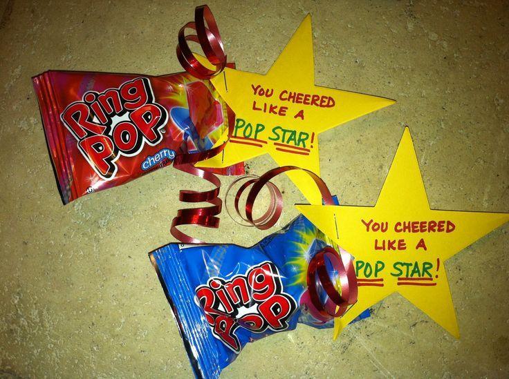 cheerleading ideas for football treats | CHEER TREATS from Team Mom!