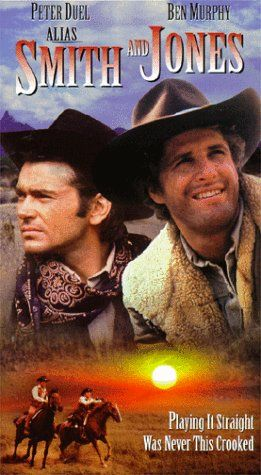 """2/12/2014 5:14am ''Alias Smith and Jones'' is a Western TV Movie then a TV Series on ABC from 1971 to 1973. It stared Pete Duel as Hannibal Heyes and Ben Murphy as Jedediah """"Kid"""" Curry, a pair of cousin outlaws trying to reform. Aired: ABC MOW Jan 1971 escapetotheseventies.com"""