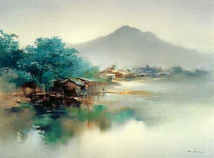 работы художника Hong Leung – 06