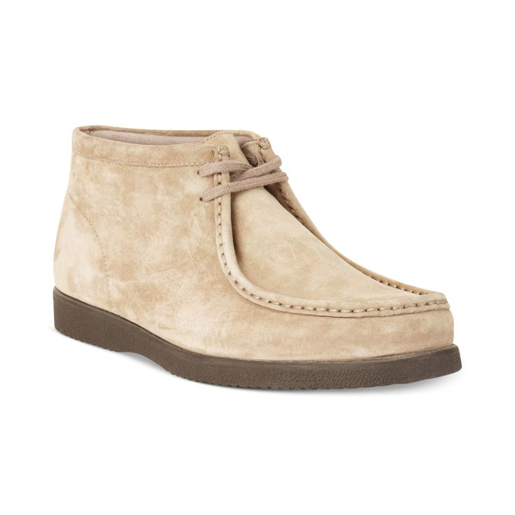 hush puppies shoes for women | Hush Puppies® Bridgeport Boots in Beige for Men (Classic Taupe Suede)