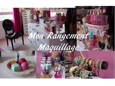 Mon Rangement Maquillage| Ma Coiffeuse – YouTube