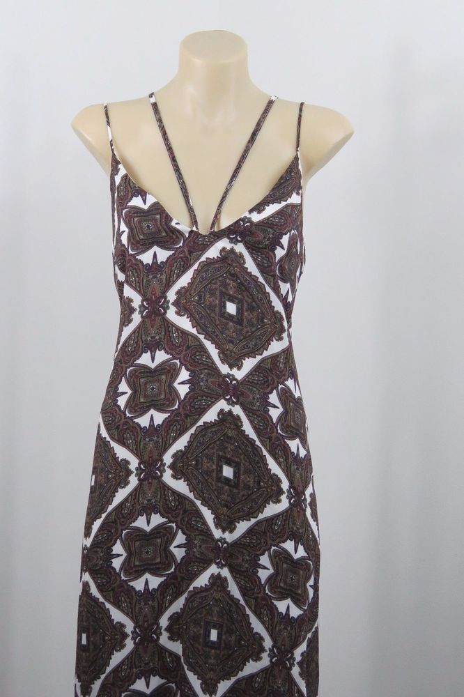 Size M 12 Missguided Ladies Maxi Dress Cocktail Boho Chic Wedding Evening Design #Missguided #Maxi #Cocktail