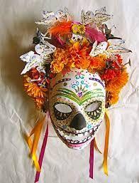 Plastic Masks To Decorate Best 102 Best Dia De Los Muertos Party Images On Pinterest  Sugar 2018