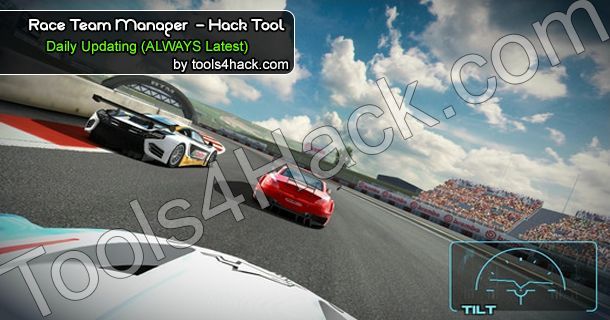 Race Team Manager Hack Tool - SEPTEMBER 2014 will generate GOLD, MONEY, ALL CARS, ALL ITEMS! Check Race Team Manager Hack now! Race Team Manager Hack latest http://tools4hack.com/race-team-manager-hack-september-2014/