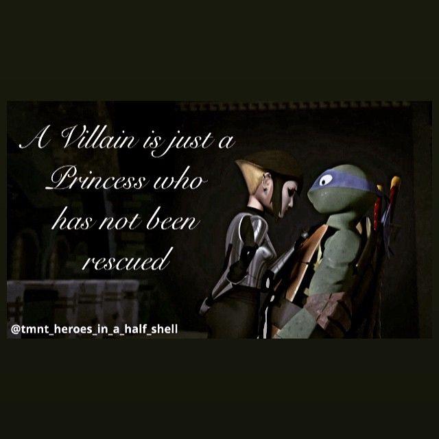 Love this quote  #karai #leo #leonardo #leorai #tmnt #turtles #villain #princess #tmnt2012 #love