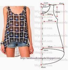 Resultado de imagen para patrones ropa