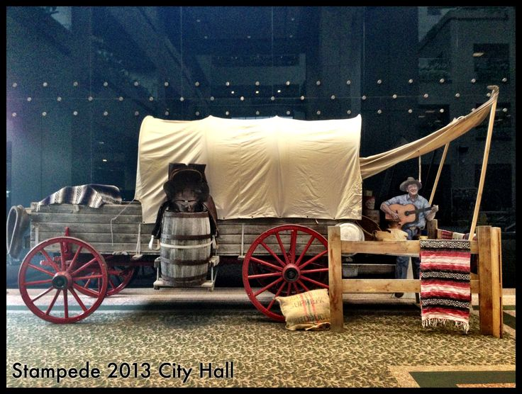One of our many authentic chuck wagons.