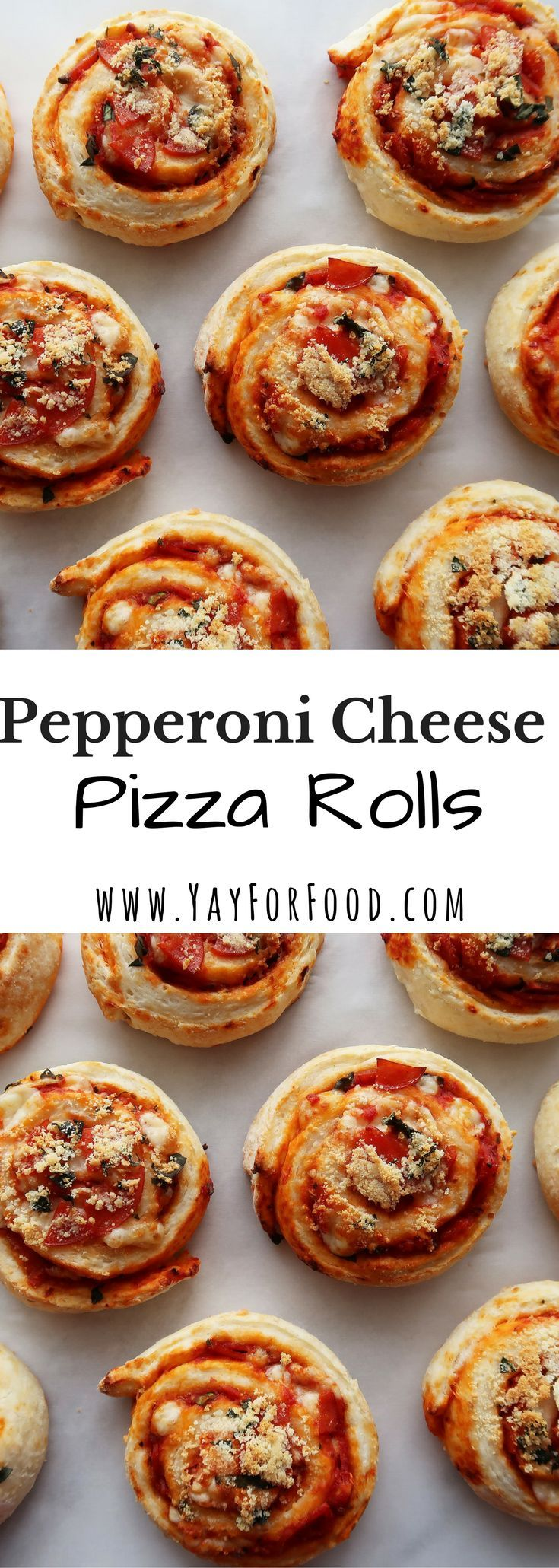 These little pizza rolls are a wonderful snack or appetizer! They are flavourful, easy to make, and can be adapted by changing up the toppings!