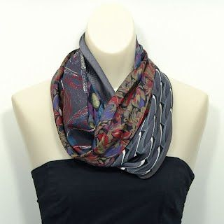 Scarves from neckties