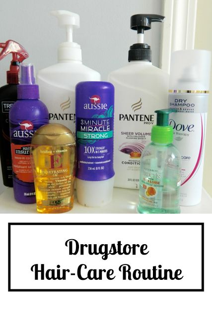 Affordable hair care routine - the best drugstore hair products