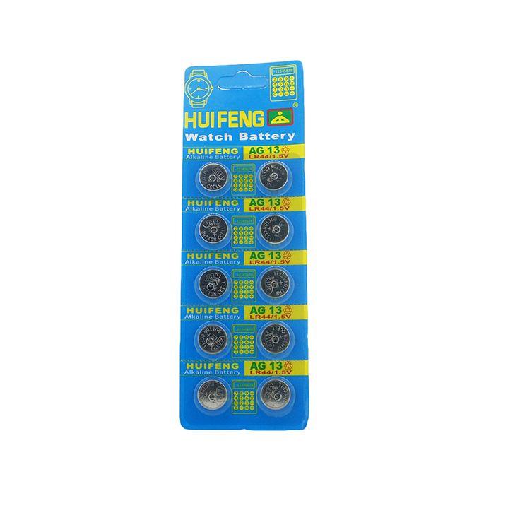 Envío Libre + Venta Caliente + 10 unids SR44SW SP76 L1154 RW82 RW42 357A LR44 AG13 Batería de la Célula de La Moneda