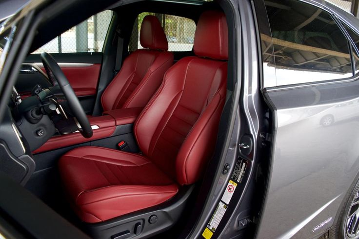 2016 Lexus RX 450h Front Seats