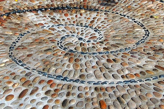 All sizes | Pebble mosaic | Flickr - Photo Sharing!