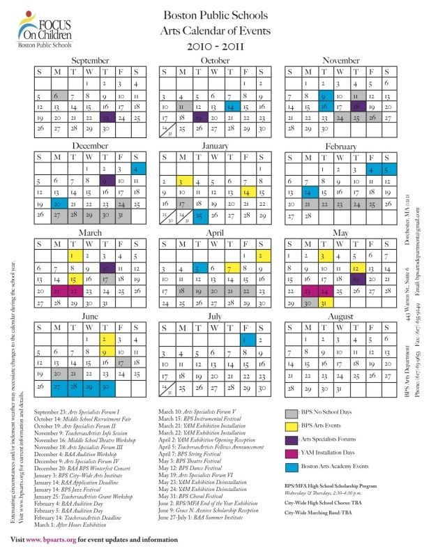 calendar of events template 2015