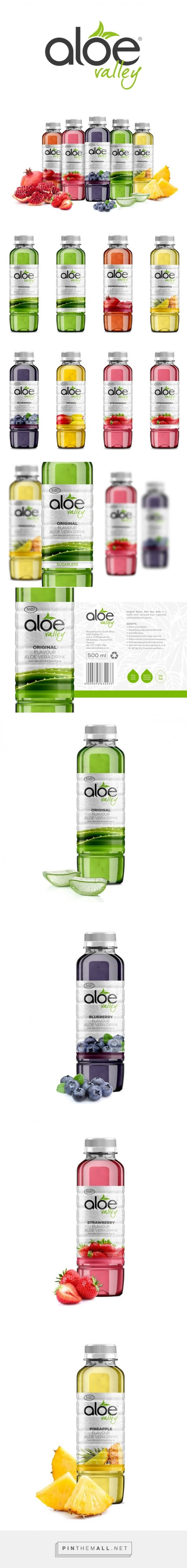 Aloe Valley Drinks Packaging of the World - Creative Package Design Gallery - http://www.packagingoftheworld.com/2015/10/aloe-valley-drinks.html