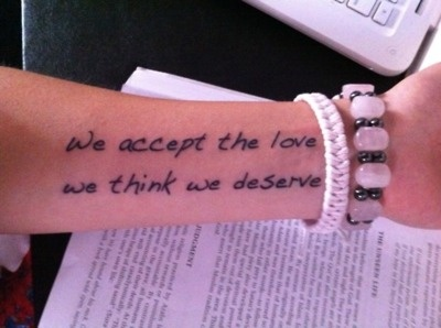 Another Perks of Being a Wallflower quote!