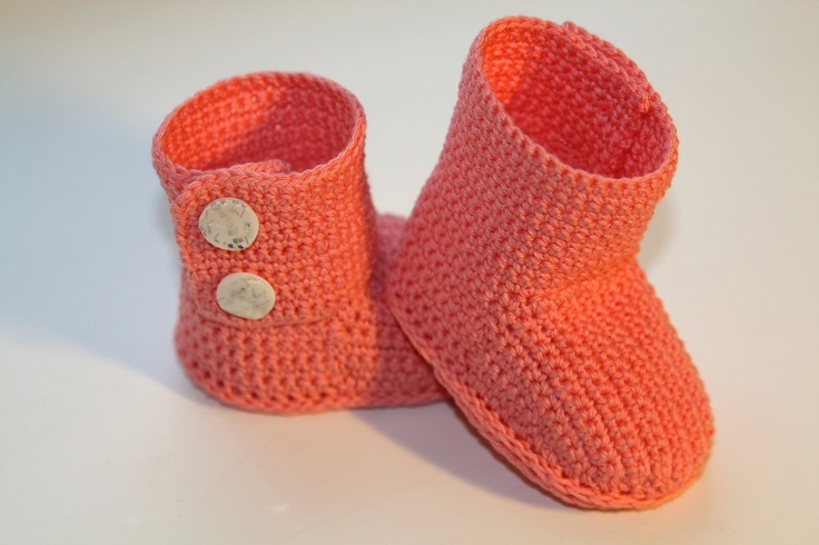 Crochet ugg boot pattern. PDF. This is a PATTERN for crocheted baby's booties - boots. Ugg (pink)/. $3.99, via Etsy.