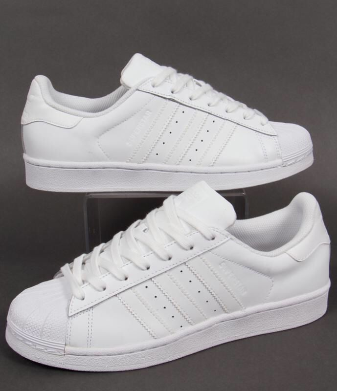 adidas originals superstar all white
