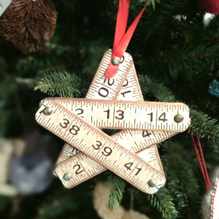 The perfect gift for the teacher in your life! This ruler star ornament is available at the #DesignAnnex and the #ShopatAGH!