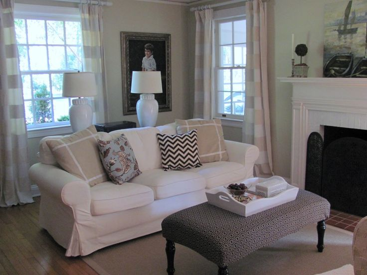 Ektrop Sofa Living Room Decor | Cottage And Vine: Your Ektorp Questions  Answered Part 46