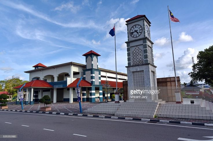 Government building, public place (free), Mersing, Malaysia, Asia. #getty #gettyimages #travel #mersing #city #photo #photography #www.vincent-jary.fr