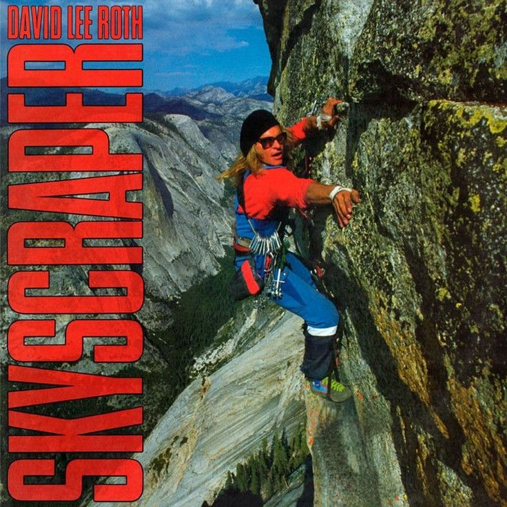 David Lee Roth - Skyscraper on Limited Edition 180g LP from Friday Music