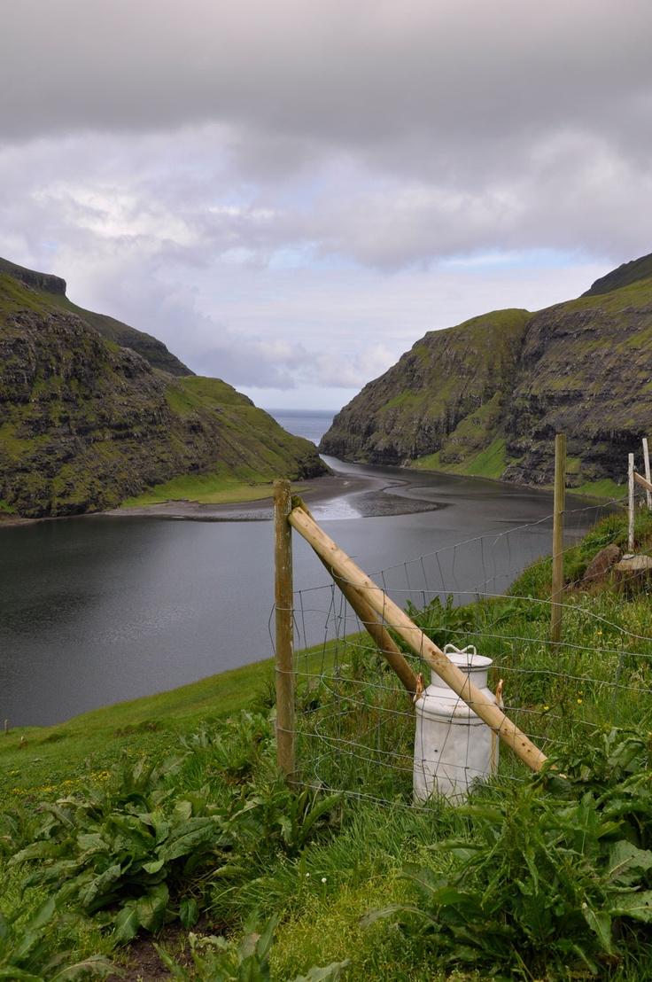 Færøerne, Saksun
